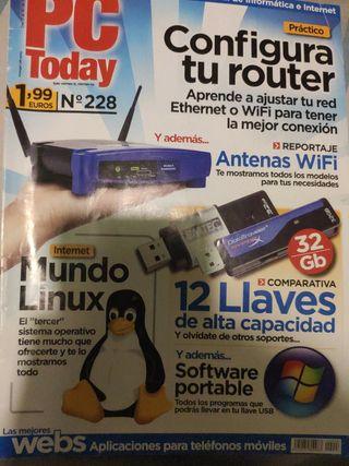 Revistas informática antiguas