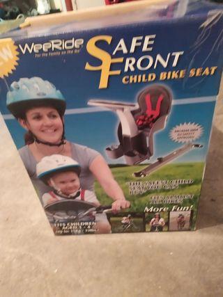 silla bebé para bicicleta