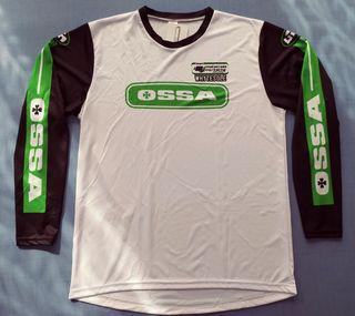 camiseta moto trial enduro OSSA. motocross