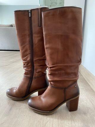 Botas de piel Pikolinos