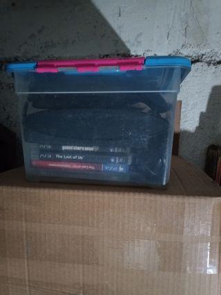 PS3 500gb. con caja original.