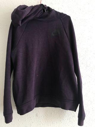 Sudadera Nike hoodie capucha con cuello alto tipo
