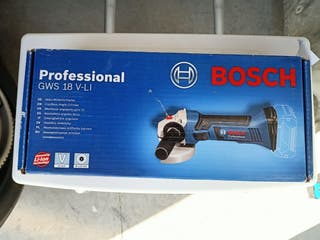 Amoladora Bosch GWS 18