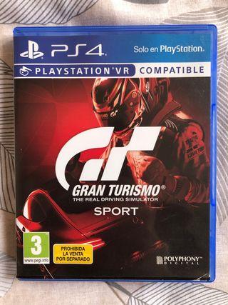 OFERTA!!..GRAN TURISMO SPORT (PS4)