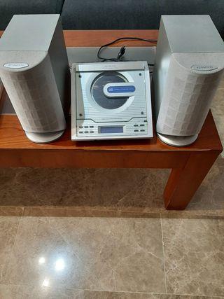 Reproductor CD con 2 altavoces