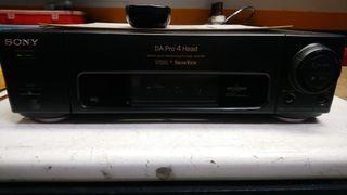 VHS vídeo casete recoger SONY