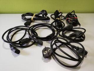 Lote de cables de alimentación para PC o similar
