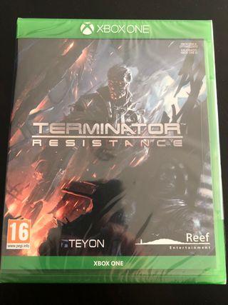 Terminator Resistance PAL ESP. Precintado. Xbox