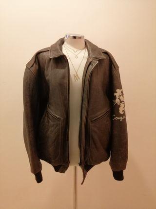 chaqueta aviador vintage