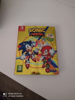 Sonic Manía Plus.