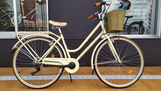 Bicicleta Megamo Trivia 28 Beige