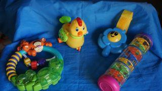 Lote juguetes bebe ver fotos