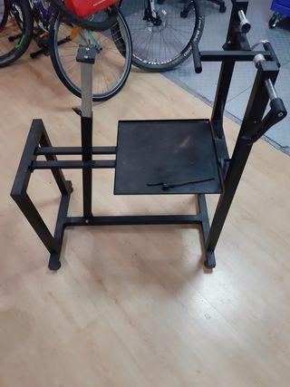 banco reparación bicicleta