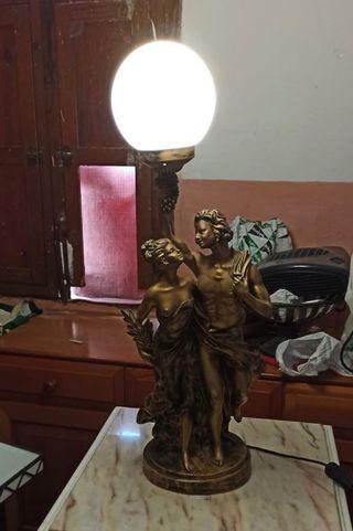 Lampara escultura