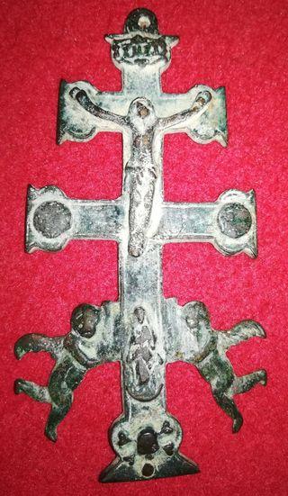Cruz antigua de carabacas