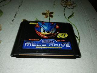 sonic 3 D megadrive