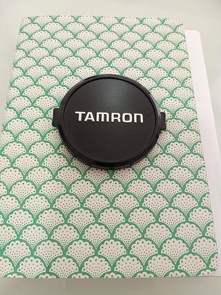 tapa de objetivo Tamron de 52 mm