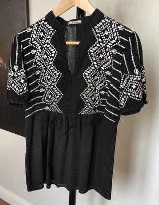 Top Blusa Camisa verano algodón