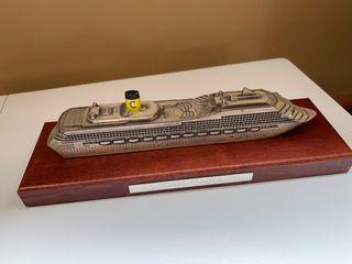 Maqueta barco metal