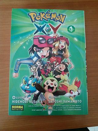 Libro Pokémon x.y 1