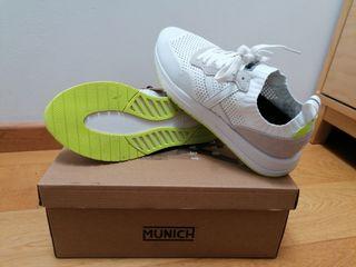 zapatillas blancas Múnich