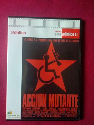 ACCIÓN MUTANTE. DVD.