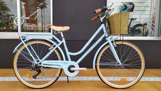 Bicicleta Megamo Trivia 26 celeste