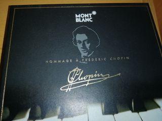 Montblanc (pluma + CD Chopin) Original