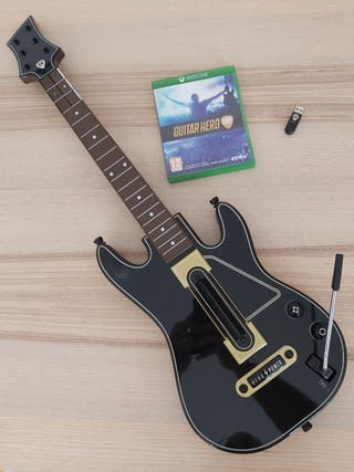 Guitarra y Juego Guitar Hero Live para XBOX ONE