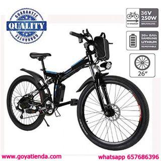 """Hiriyt 26"""" Bicicleta eléctrica de montaña, 250W, B"""