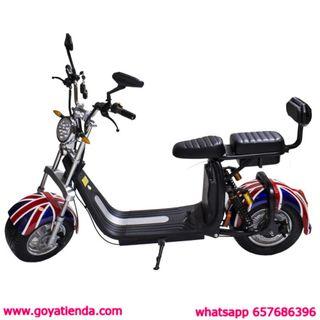 Scooter eléctrico 1000W Citycoco Bicicleta Harley