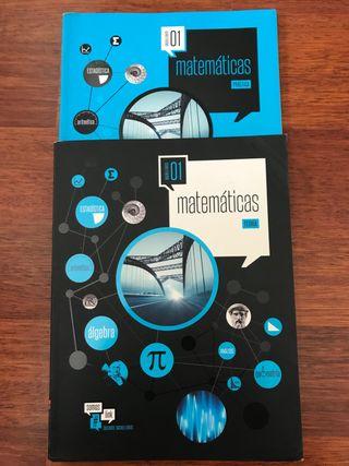Libro matemáticas 1° bachillerato.