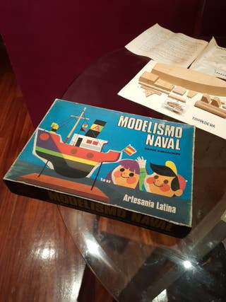 maqueta barco modelismo naval mod. torpedera
