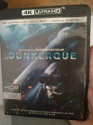 DUNKERQUE (4K+BLURAY) CHRISTOPHER NOLAN