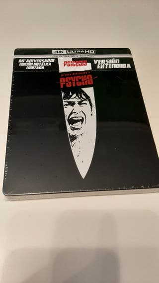 Psicosis 4K UHD steelbook bluray