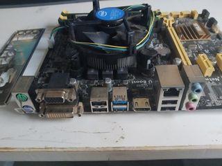 Placa base Asus, procesador I5 y 8 GB RAM