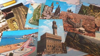 vendo postales varias