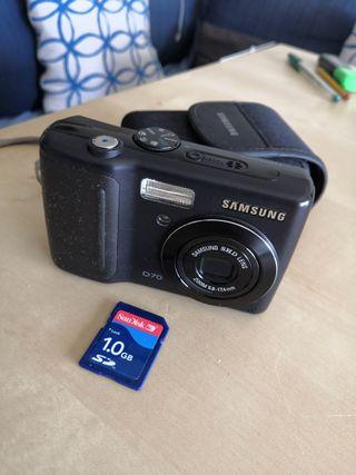 Cámara Samsung D70