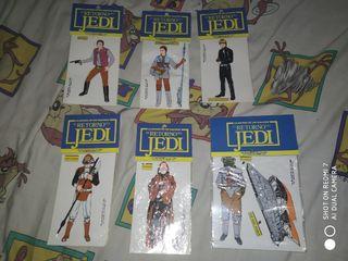 lote pegatinas el retorno del Jedi