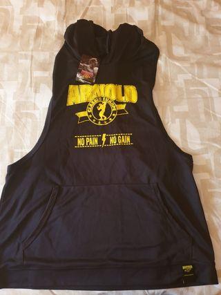 camiseta tirantes capucha arnold