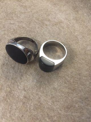 Dos anillos por uno