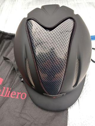 casco equitacion de carbon