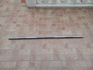 Barra maciza de 120cm y 8 KILOS 28mm
