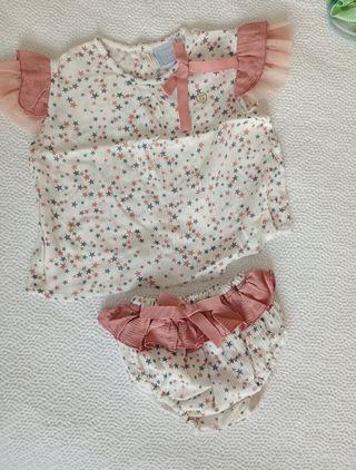 Conjunto niña Tris Tras ropa