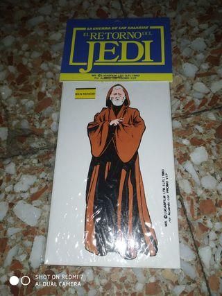 pegatina el retorno del Jedi 1983