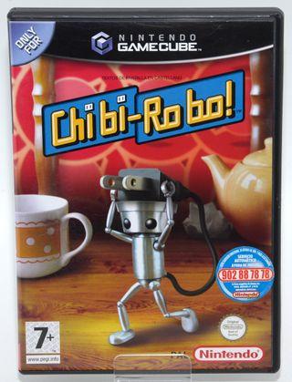 VIDEOJUEGO NINTENDO GAMECUBE CHIBI ROBO