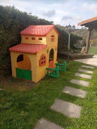 caseta jardín infantil