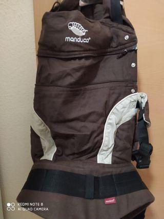 mochila portabebe manduca + andador primeros pasos