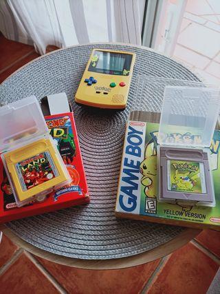 consola Game boy color Pokemon y juegos Psp nuevos