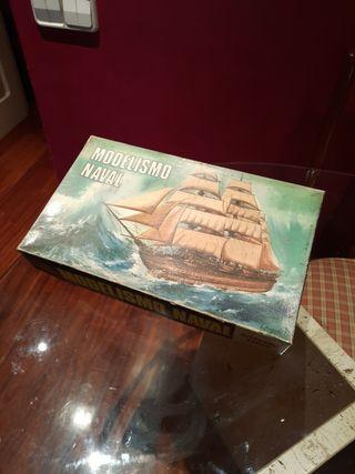 maqueta barco modelismo naval
